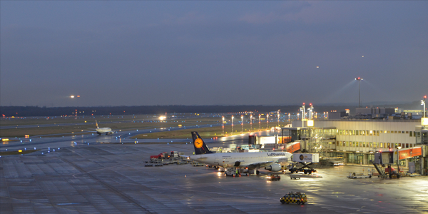 Dusseldorf airport parking