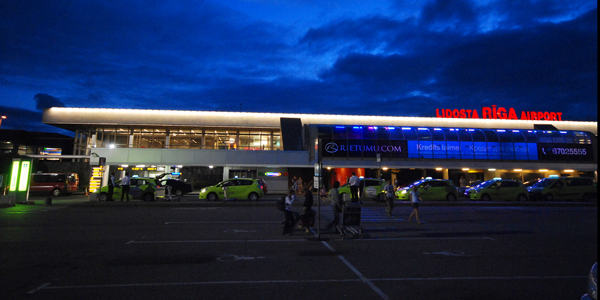 Riga airport parking