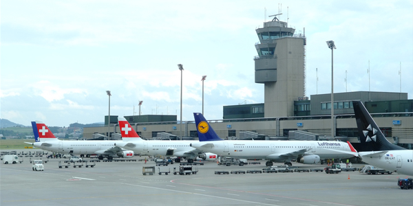 Zurich airport parking